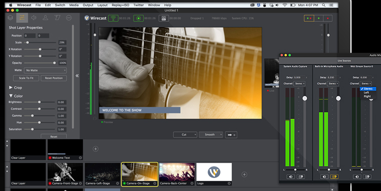Wirecast Pro 11.1.0 Crack + License key Free Download [2019]