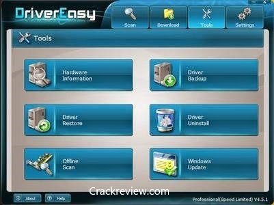 Driver Easy Pro 5.6.7 Crack + Serial Key Full Download