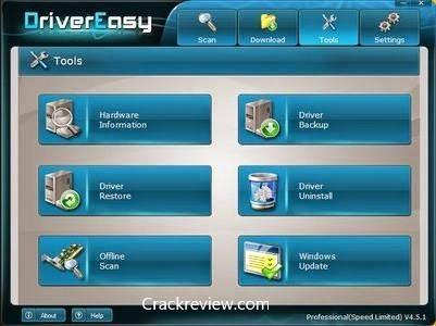 Driver Easy Pro 5.6.15 Crack + Serial Key Full Download 2020