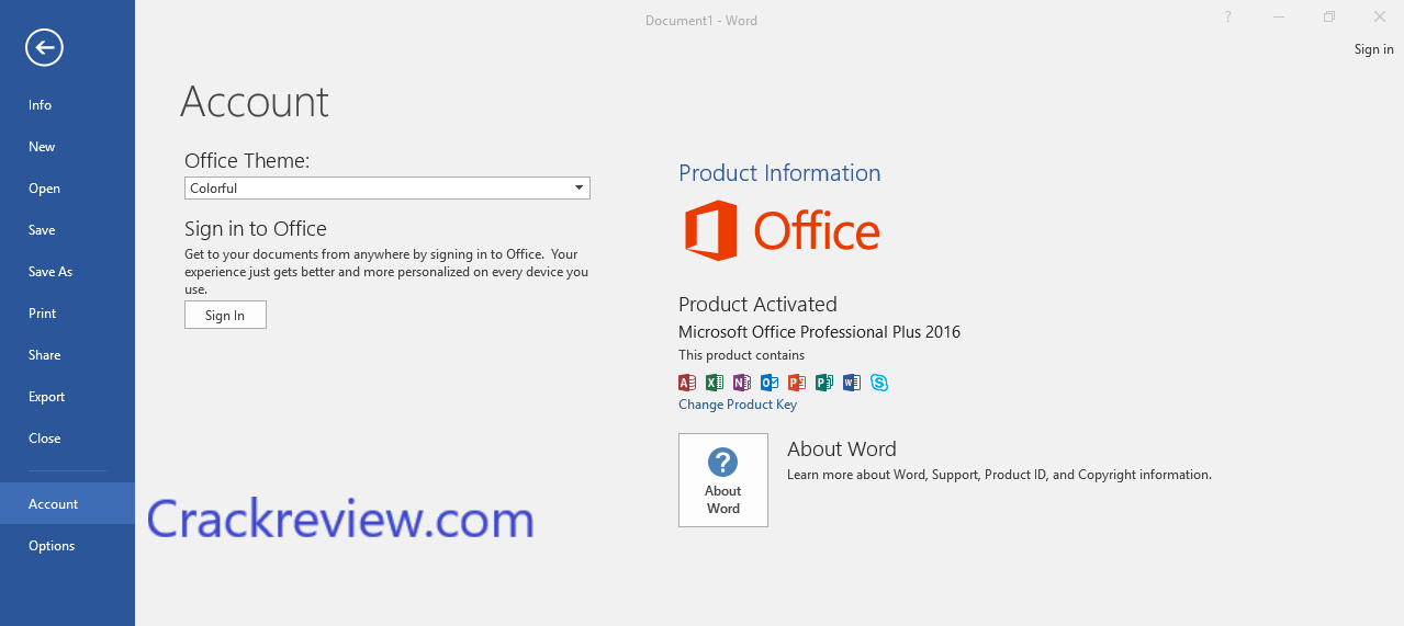 Microsoft Office 2019 Crack + Product Key Full Version Download