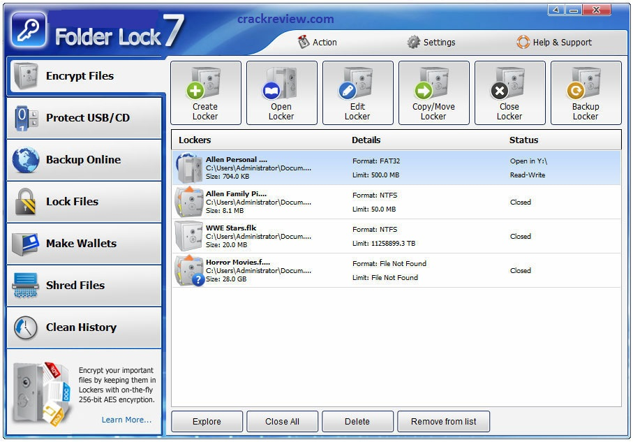 Folder Lock 7.7.6 Crack + Serial Key Free Download [Latest]