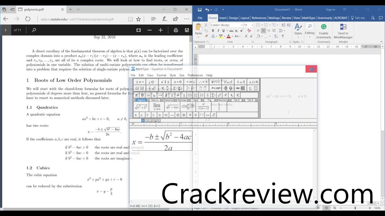 MathType 6.9 Crack & License Key Full Free Download