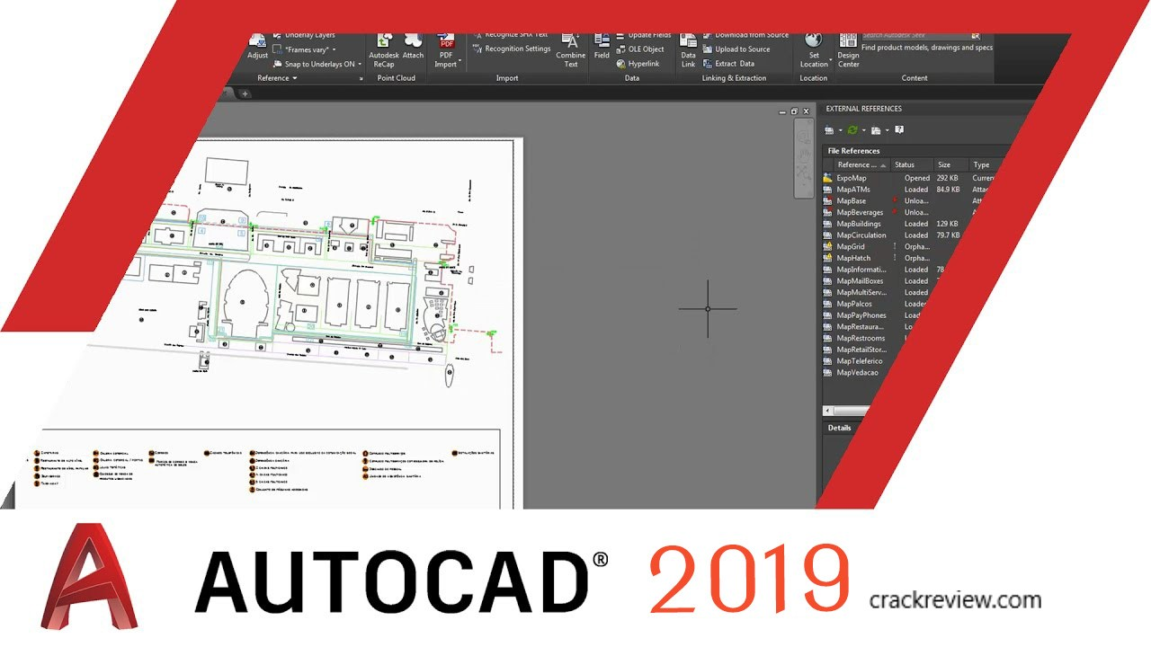 Autodesk Autocad 2019 Crack + Keygen Free Download
