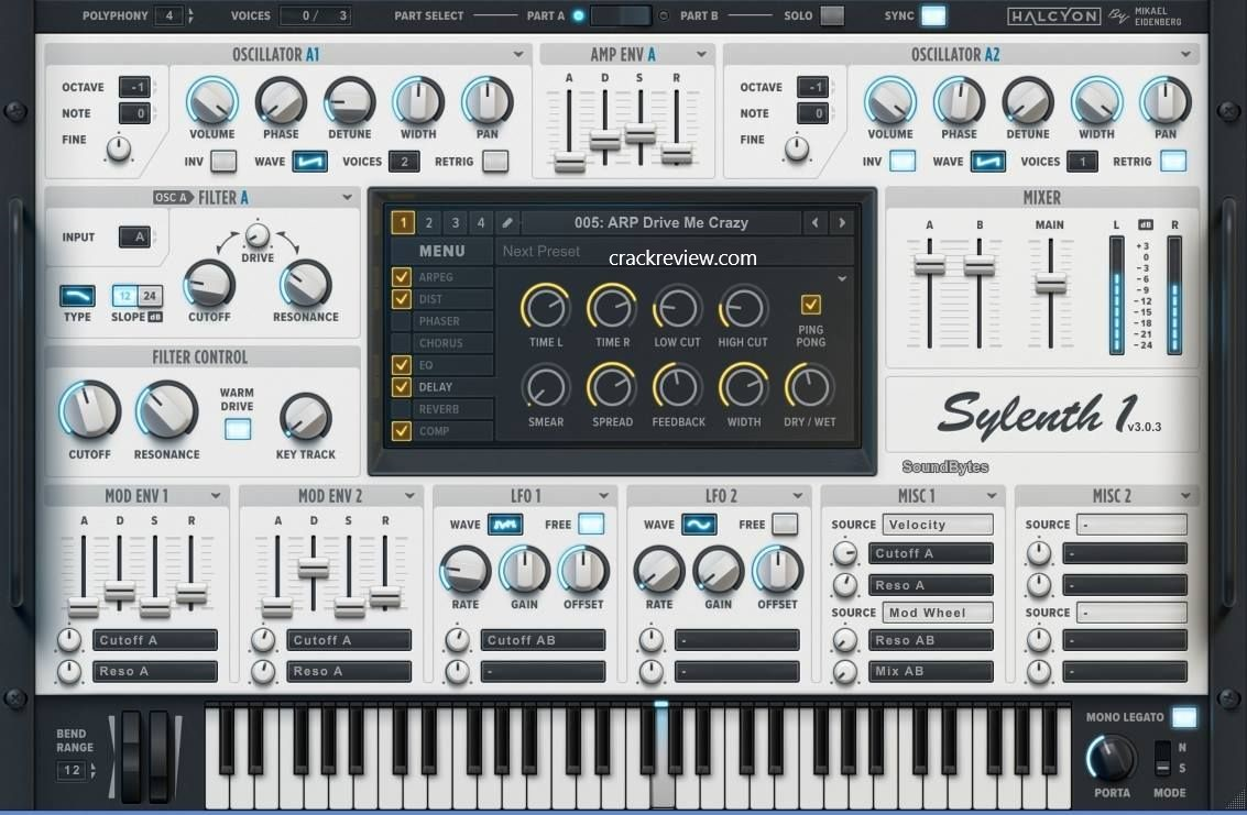 Sylenth1 Crack + Serial Key [Mac + Win] Free Download