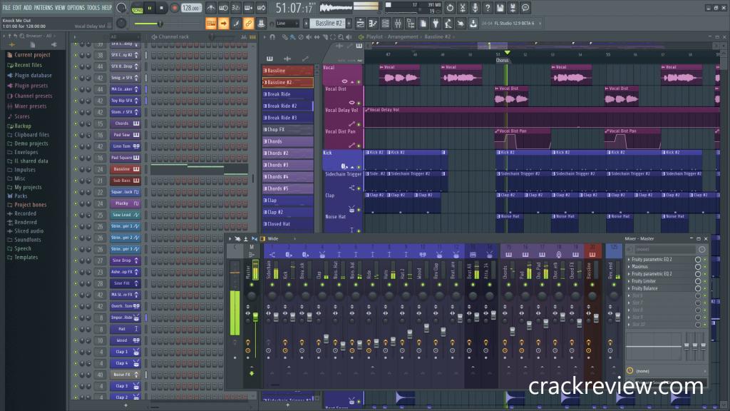 FL Studio 20.7.0 Crack + Key Full Torrent 2020 Updated