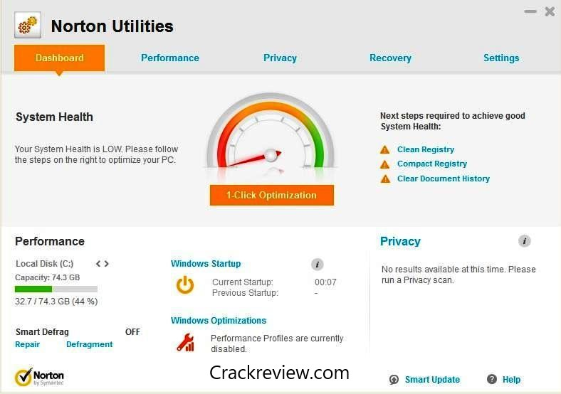 Norton Utilities 2019 Crack With Keygen Download [Latest]