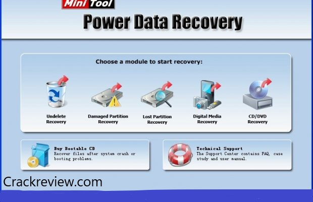 MiniTool Power Data Recovery 8.8 Crack + Keygen Free Download 2020