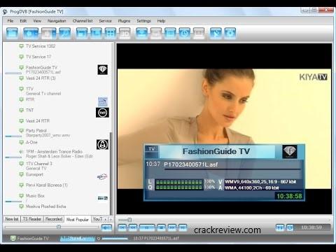 ProgDVB 7.34.8 Crack + Serial Key Free Download [64/32-bit]