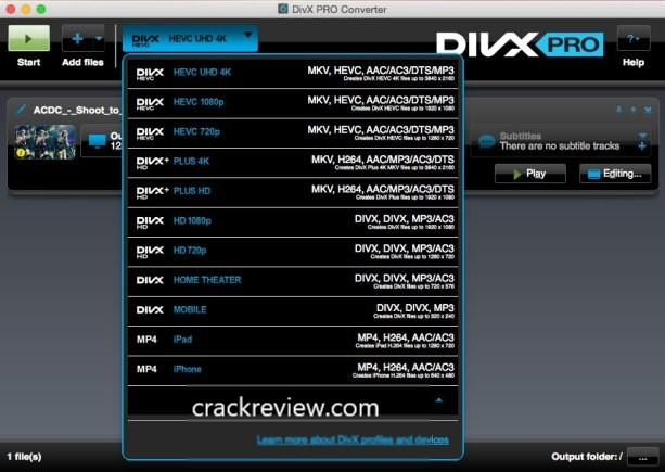 DivX Pro 10.8.7 Crack + Serial Number Free Download 2020