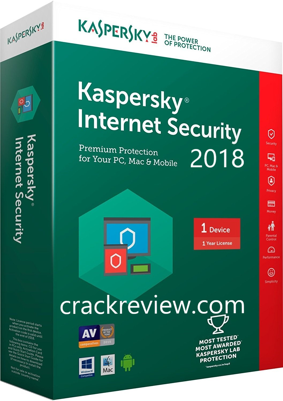 Kaspersky Internet Security 2019 keygen