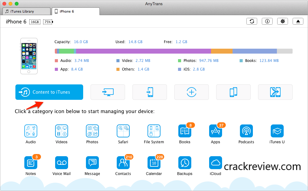 AnyTrans 8.7.0 Crack + Serial Key Free Download 2020