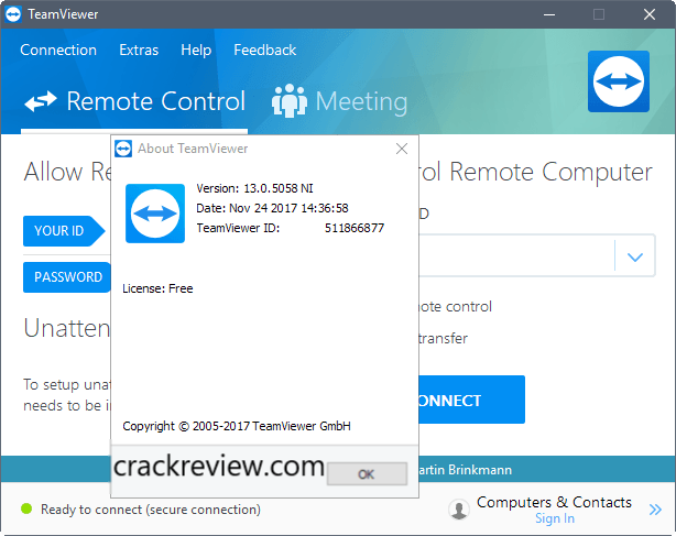 TeamViewer 15.7.6 Crack + License Key Free Download 2020
