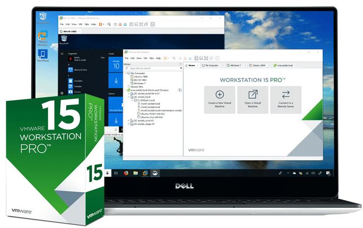 VMware Workstation Pro 15.5.5 Crack + License Key 2020 Download
