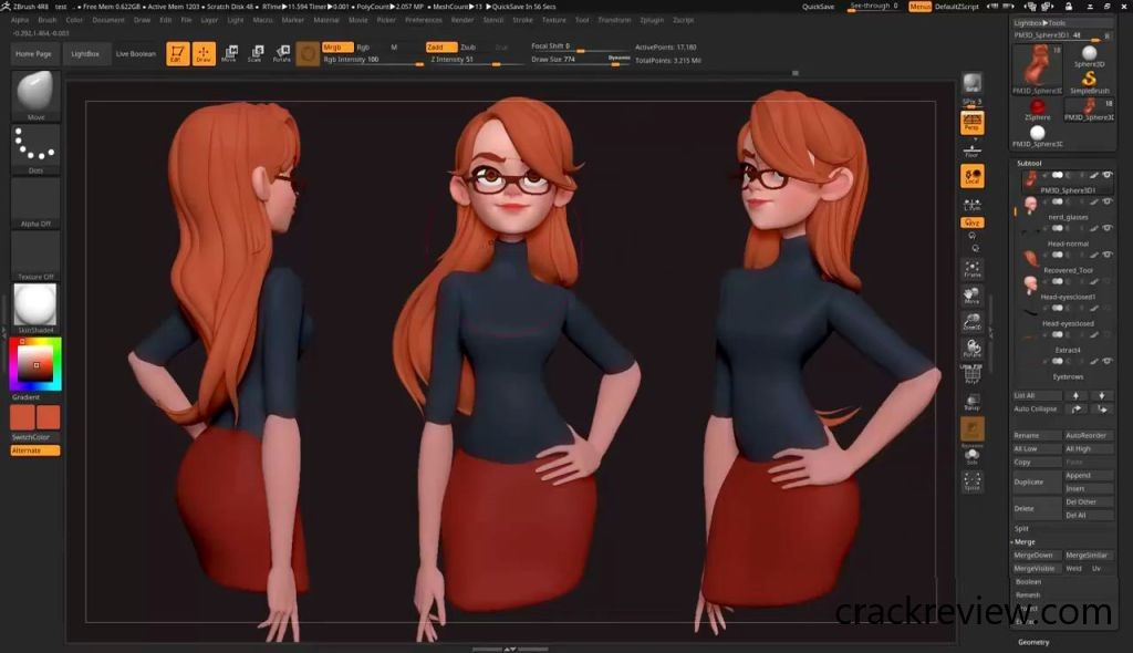 ZBrush 4R8 Crack + Keygen Torrent Full 2020 Download
