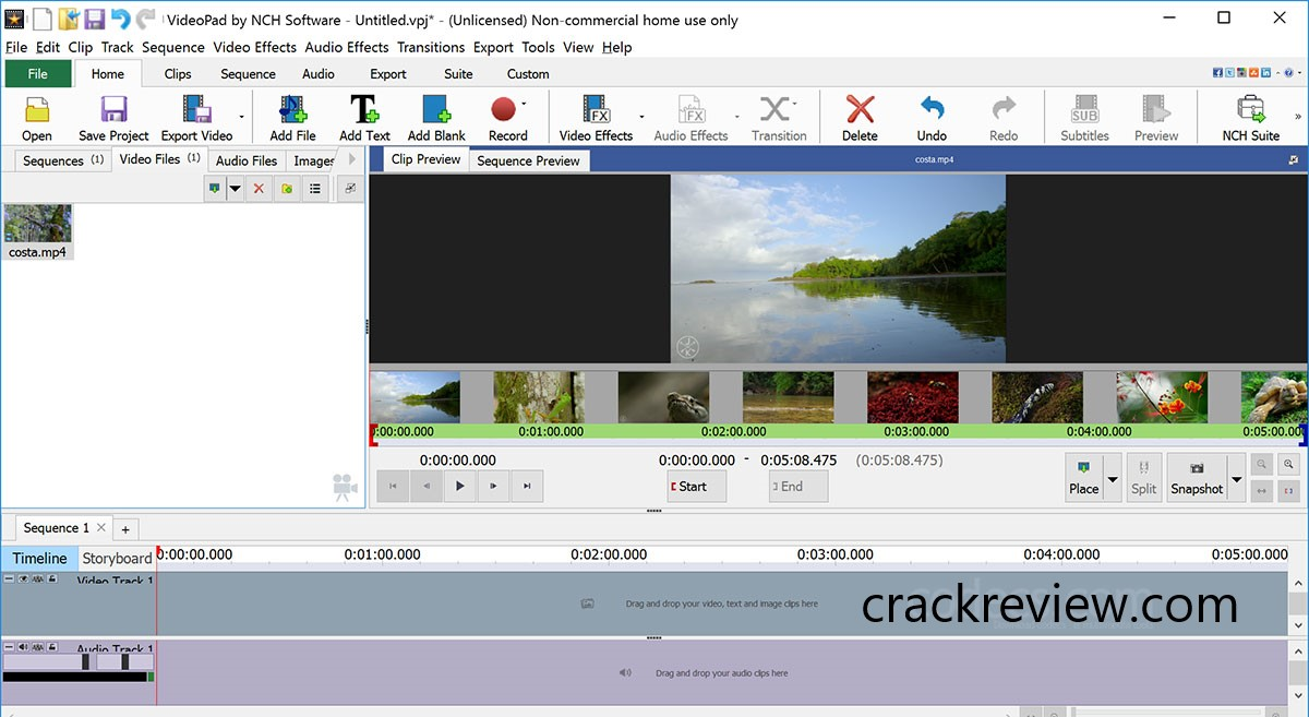 VideoPad Video Editor 8.34 Crack + Registration Code 2020 Download