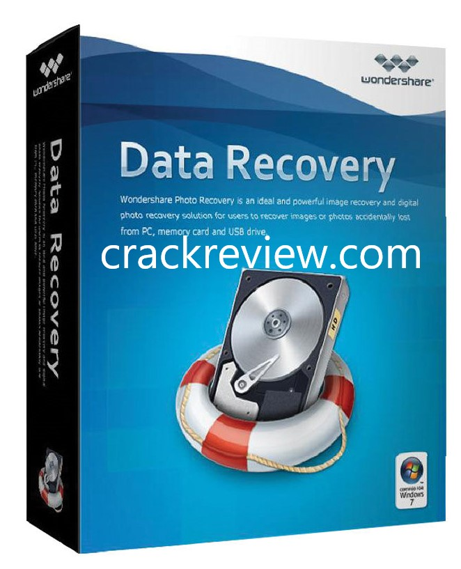 Wondershare Data Recovery v6.6 Crack + Serial Number Free 2019