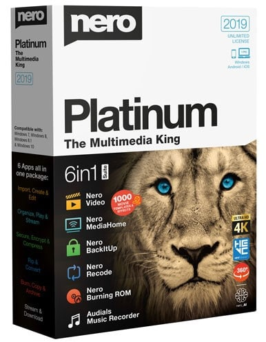 Nero Platinum 2020 Crack + License Key [Latest]
