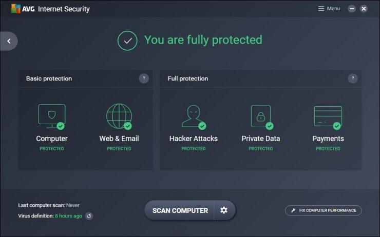 AVG Internet Security 2019 19.7 Crack + Key Free Download 2019