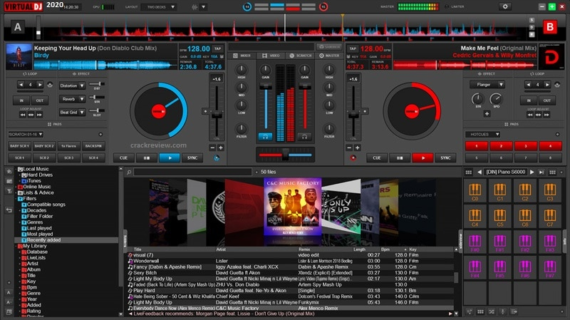 Virtual DJ 2021 Crack + Keygen [Windows + Mac] Full Download